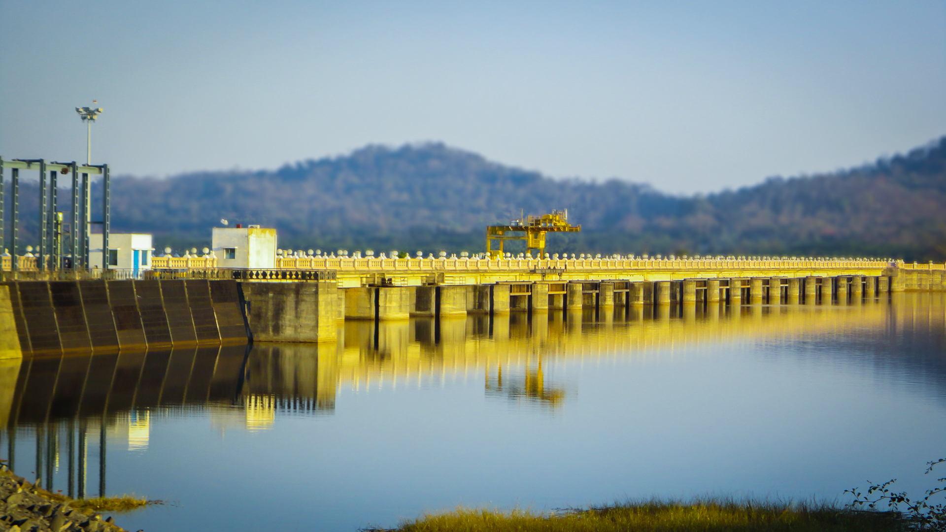 Gajanur Dam, Shimoga