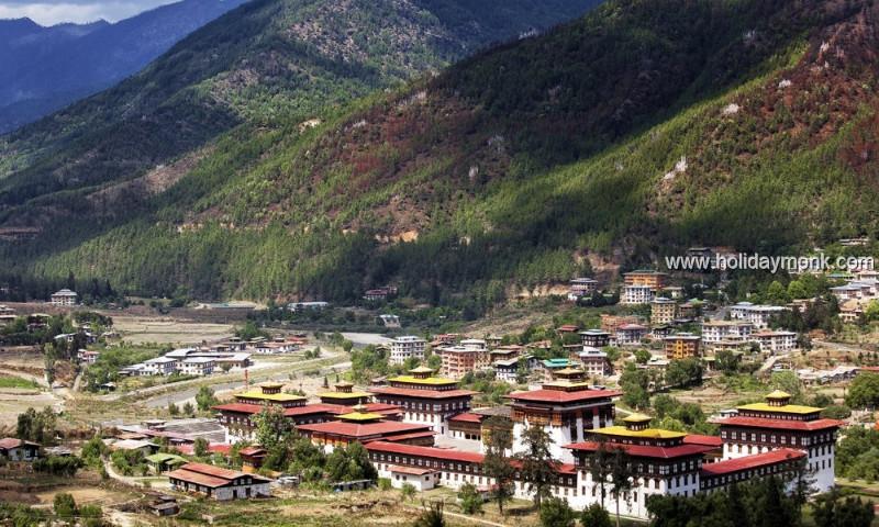Landscape-at-Thimphu-Bhutan